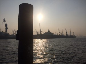 Hamburger Hafen. Copyright: Bianca Garloff